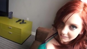Beauty coils and groans from distraction anal screw brings her